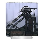 Mining History Shower Curtain