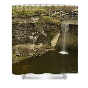 Minneopa Falls 39 Shower Curtain