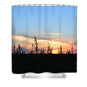 Minnesota Sunset 12 Shower Curtain