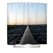 Minnesota Sunset 18 Shower Curtain