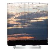 Minnesota Sunset 2 Shower Curtain