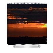 Minnesota Sunset 6 Shower Curtain