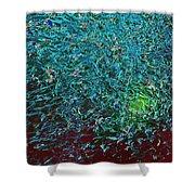 Minnow Splash Mob Shower Curtain