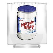 Miracle Whip Shower Curtain