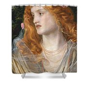 Miranda Shower Curtain by AFA Sandys