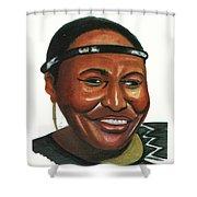Miriam Makeba Shower Curtain