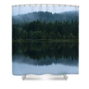 Mirror Reflections Shower Curtain