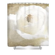 Miss Bee Haven II Shower Curtain