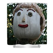 Miss Julia Scarecrow Shower Curtain