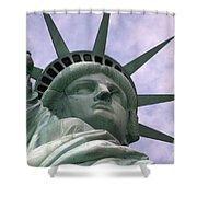 Miss Liberty Shower Curtain