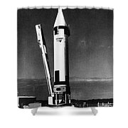 Missile Test, 1960 Shower Curtain