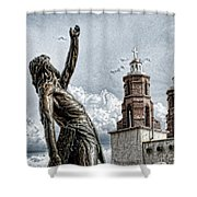Mission At San Luis Shower Curtain