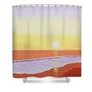Mission Beach Shower Curtain