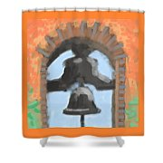 Mission Bell Shower Curtain