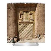 Mission Door Shower Curtain