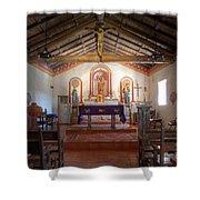 Mission San Antonio De Padua 3 Shower Curtain