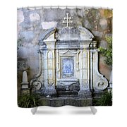 Mission San Carlos Borromeo De Carmelo  10 Shower Curtain