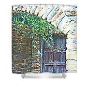 Mission San Jose San Antonio Texas Shower Curtain
