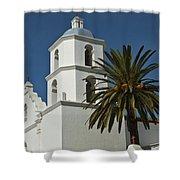 Mission San Luis Rey Iv Shower Curtain