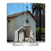 Mission San Rafael Arcangel Chapel Shower Curtain