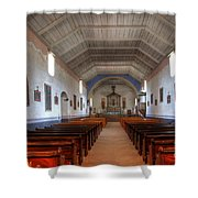 Mission Santa Ines 3 Shower Curtain