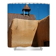 Mission Wall Shower Curtain