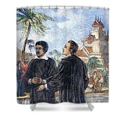 Missionaries: Baptism Shower Curtain
