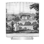 Missionary College, 1837 Shower Curtain