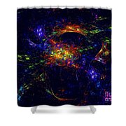 Misterious Universe Shower Curtain