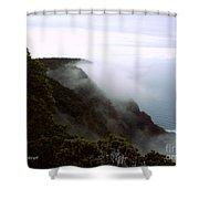Mists Along The Kalalau Valley Shower Curtain