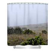 Mists Between The Hills Shower Curtain