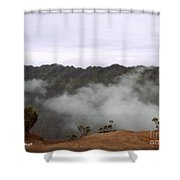 Mists From The Kalalau Valley Shower Curtain