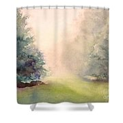 Misty Morning 2 Shower Curtain