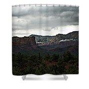 Misty Mountain II  Shower Curtain