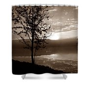 Misty Reflections S Shower Curtain