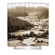 Misty Valley Shower Curtain