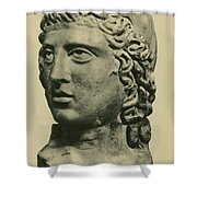 Mithras, Zoroastrian Divinity Shower Curtain