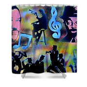Mo Betta Blues Shower Curtain