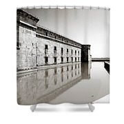 Moat Around Fort Delaware Shower Curtain