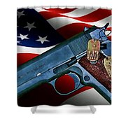 Model 1911-a1 Shower Curtain
