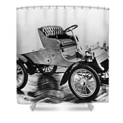Model A Ford, 1903 Shower Curtain