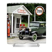 Model A Ford Shower Curtain by Ted Kinsman