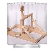 Model Catapult Shower Curtain