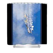 Model Plane 7 Shower Curtain