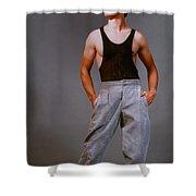 Model Robert Sorensen No. 14 Shower Curtain