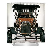 Model T Ford, 1910 Shower Curtain