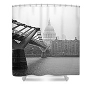 Modern And Traditional London Shower Curtain