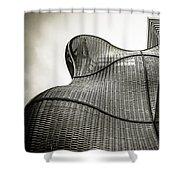 Modern Basket Weaving In London Shower Curtain