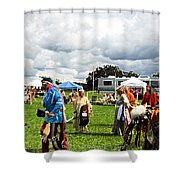 Modern Day American Indian Accent Fx  Shower Curtain