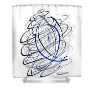 Modern Drawing 111 Shower Curtain